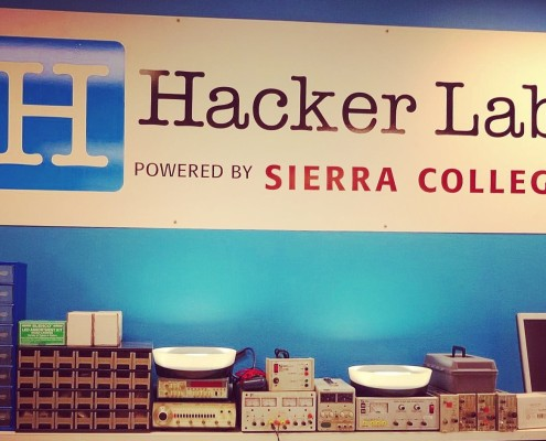 Hacker-Lab-Electronics-area-in-Rocklin